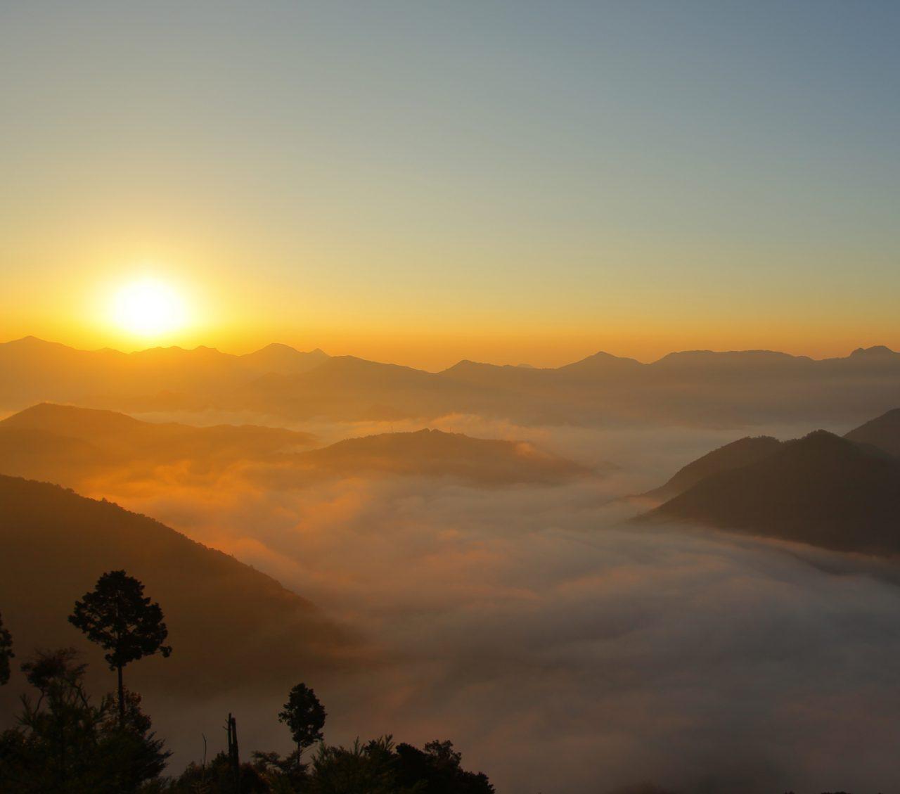 北山村のイメージ雲海